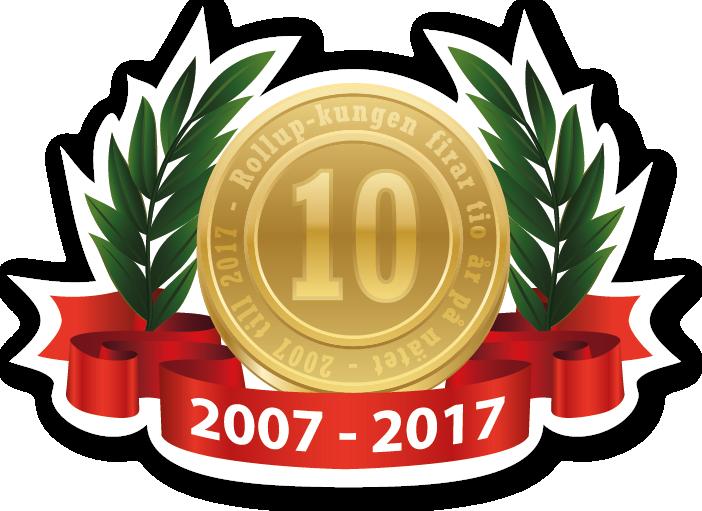 Vi firar 10 år på nätet